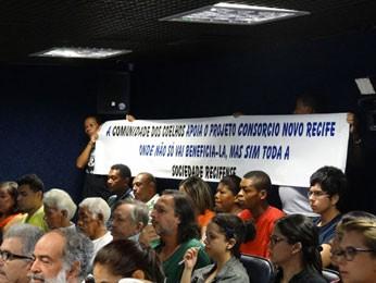 Audiência Pública discute projeto Novo Recife (Foto: Katherine Coutinho / G1)