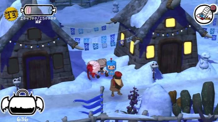 Tire suas fantasias de Costume Quest do armário e lute também no Natal (Foto: YouTube)