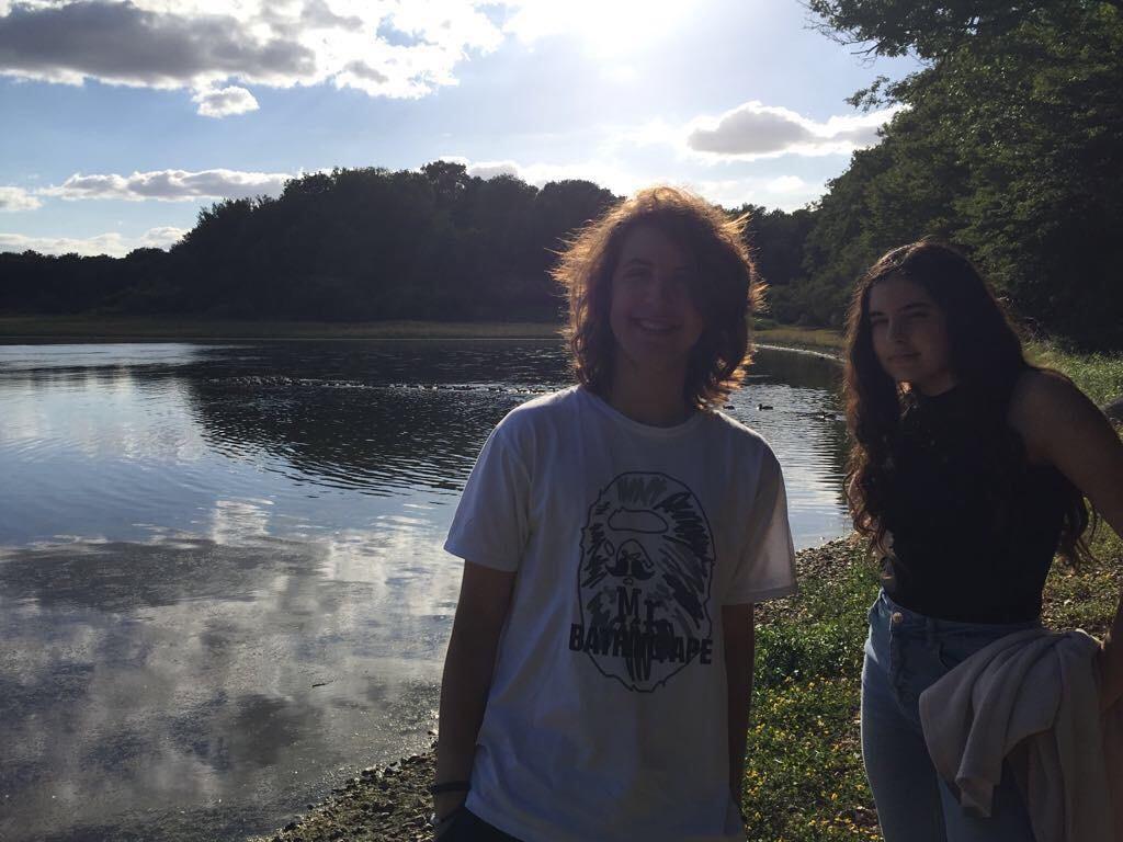 Lucas e Mazie (Foto: Reprodução/Instagram)