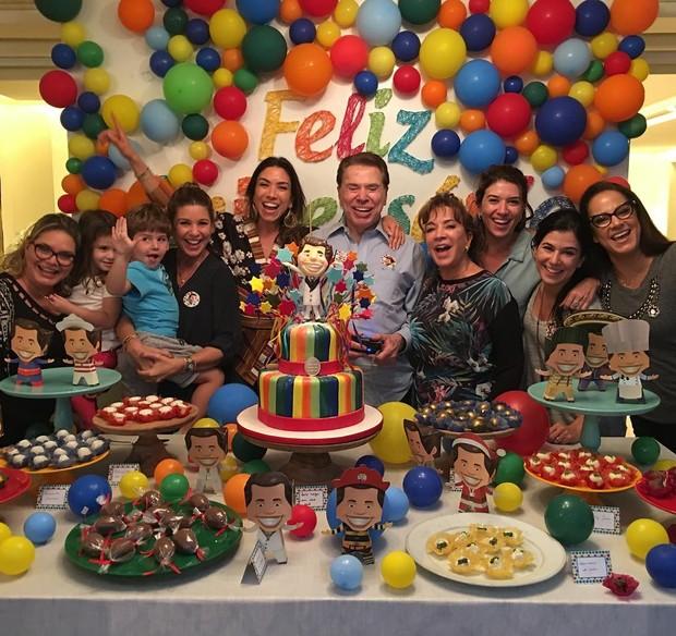 Festa do Silvio Santos (Foto: Reprodução/Instagram)