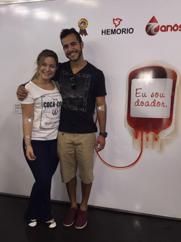 Cacau e Matheus Lisboa (Foto: Divulgação)