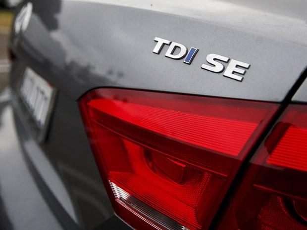 Volkswagen Passat TDI, a diesel, em Santa Mônica, na Califórnia (Foto: Lucy Nicholson/Reuters)