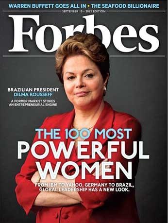 """Dilma na capa da """"Forbes"""" (Foto: Reprodução)"""