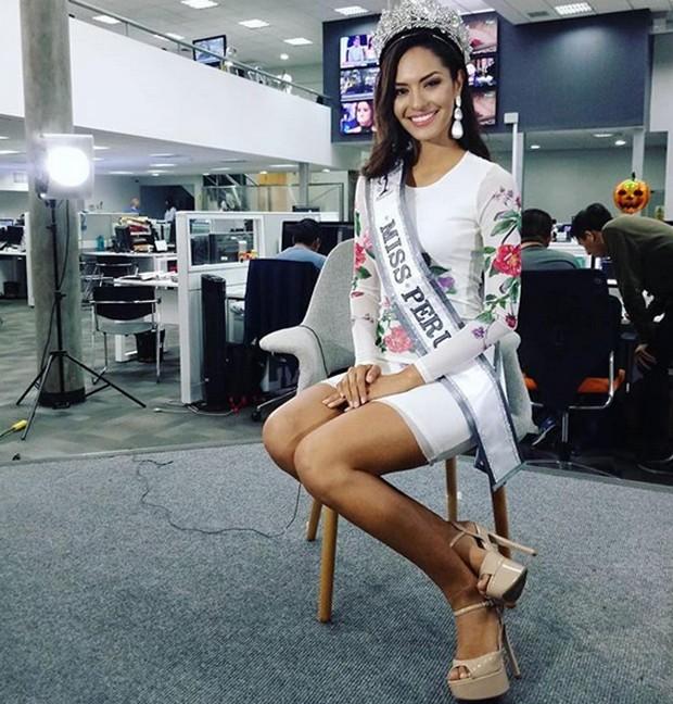 Romina Lozano, Miss PEru (Foto: Reprodução / Instagram)