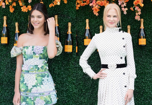Kendall Jenner e Nicole Kidman (Foto: Getty Images)