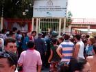 Eleitor é morto a  tiros dentro de escola (Marcelino Neto/G1)