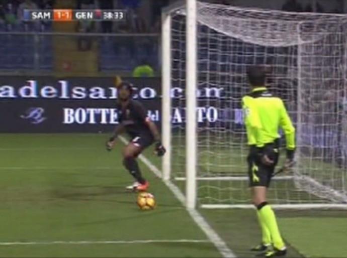 Sampdoria x Genoa (Foto: Reprodução/YouTube)