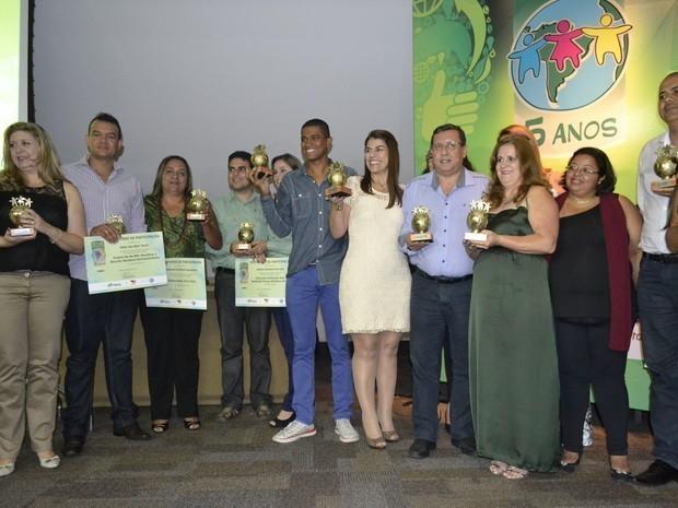 Prêmio Atitude Sustentável 2014 (Foto: Divulgação/ TV Gazeta)