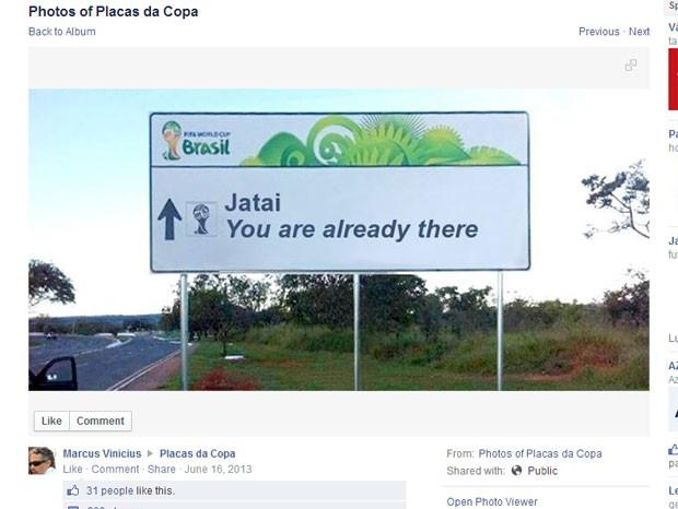 Jatai (Foto: Reprodução/Facebook)