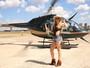 Ju Isen vai de helicóptero a festival Tomorrowland: 'Fugindo do trânsito'