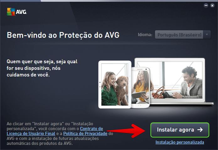 Clique em Instalar Agora (Foto: Felipe Alencar/TechTudo)