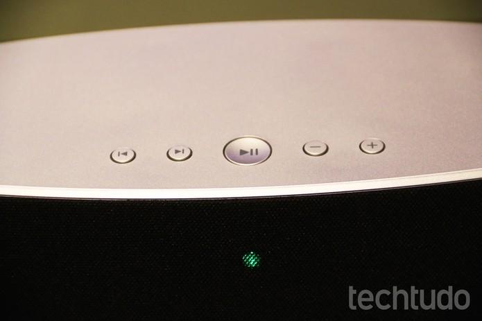 São dois os modelos da Philips com suporte ao Spotify: SW700M e SW750M (Foto: Fabrício Vitorino/TechTudo)