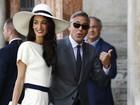 George Clooney e Amal Alamuddin se casam no civil em Veneza