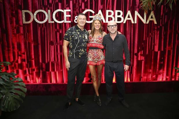 Domenico Dolce, Anna Dello Russo e Stefano Gabbana (Foto: Luciana Prezia)