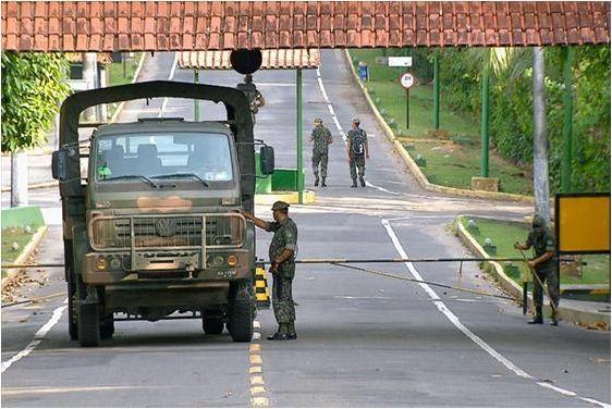 CIGS - Centro de Instrução de Guerra na Selva, do Exército Brasileiro (Foto: Reprodução Terra da Gente)