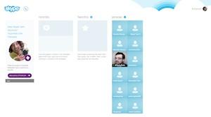 O Skype ganhou uma versão recente para o Windows 8 (Foto: Reprodução)