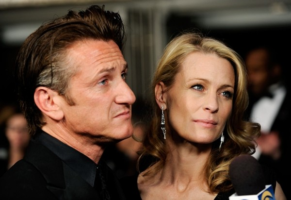 Sean Penn e Robin Wright (Foto: Getty Images)