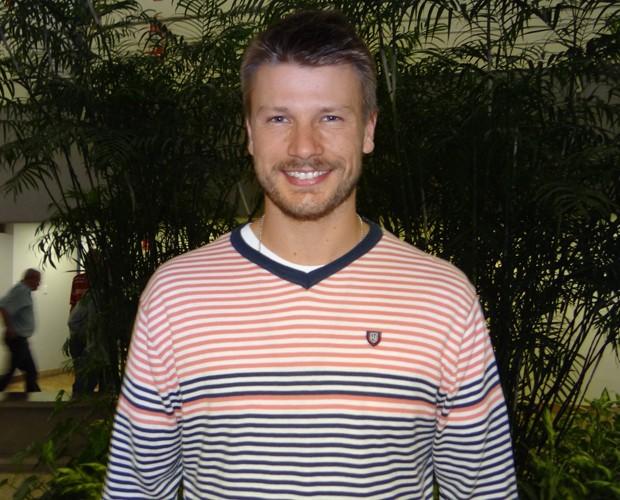 Rodrigo Hilbert (Foto: Domingão do Faustão / TV Globo)