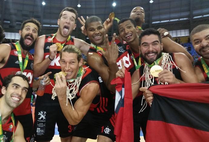 Flamengo NBB 7 Campeão (Foto: Marcello Pires)