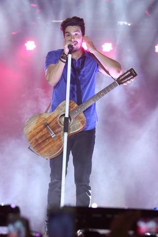 Luan Santana (Foto: Thiago Duran/Agnews)