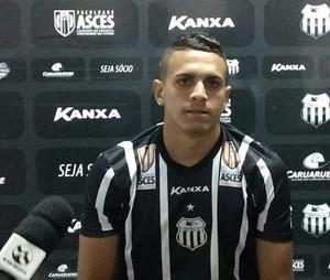 Sanny Rodrigues, zagueiro do Central (Foto: Dayvson Roberto)
