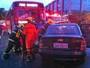Acidente bloqueia W3 Norte, em Brasília, e causa congestionamento