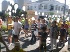 Protesto contra o governo federal reúne centenas em Paranavaí