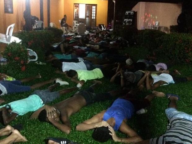 Policiais encaminharam suspeitos à Seic para averiguações    (Foto: Divulgação/SSP-MA)