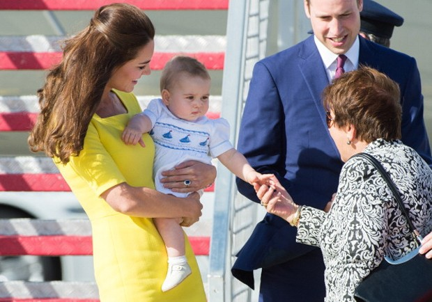 Kate Middleton e George (Foto: Getty Images)