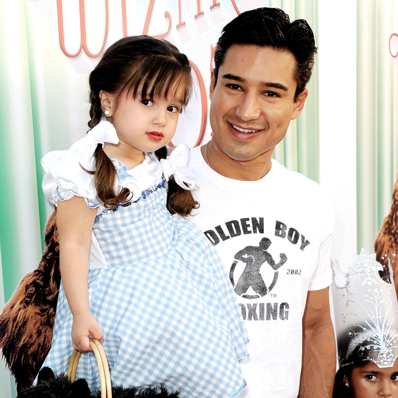 """Quando perguntaram a Mario Lopez, o apresentador do 'American Idol', o que mais gosta na paternidade, ele respondeu: """"Tudo!"""". Ele é pai de Gia (foto), de 3 anos, e Dominic, de 9 meses. (Foto: Getty Images)"""