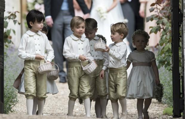 Príncipe George foi pajem de Pippa Middleton (Foto: Getty Images)