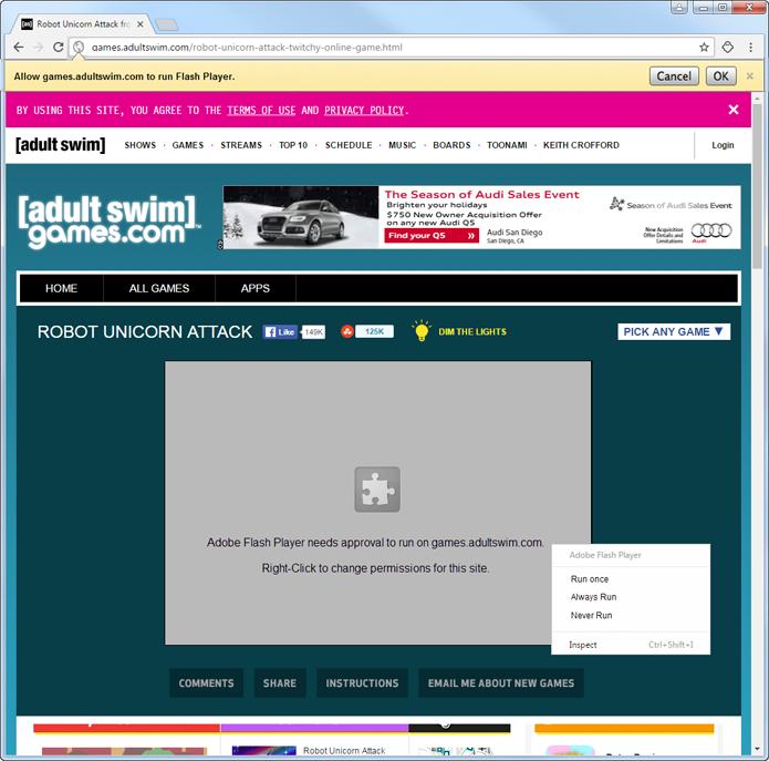 Proposta do Google é bloquear Flash por padrão no Chrome (Foto: Reprodução/Google)