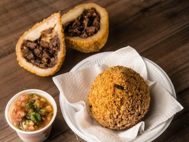 Coxinha de churrasco é uma das atrações de festival gastronômico em Cuiabá (Foto: Yod Assessoria)