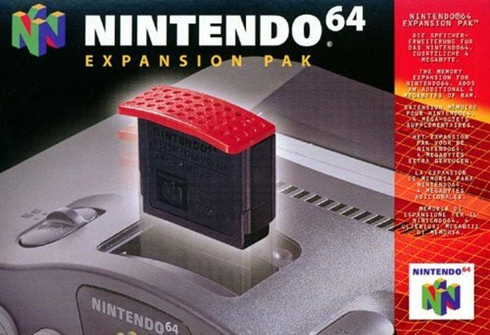 Expansão de Memória do Nintendo 64 (Foto: Divulgação)