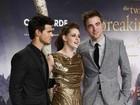 Kristen Stewart, Pattinson e Lautner promovem 'Amanhecer' em Berlim