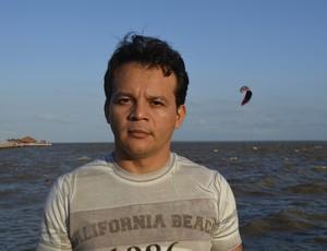 Kitesurf Amapá (Foto: Jonhwene Silva/GE-AP)