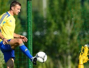 shevchenko ucrânia treino (Foto: Agência Reuters)