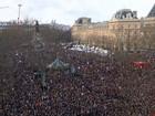 Sarkozy, Netanyahu e extrema direita são curiosidades de marcha em Paris