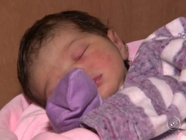 Desde que o atendimento voltou ao normal, 23 bebês nasceram no hospital (Foto: Reprodução TV TEM)