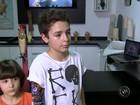 Menino atacado por tigre ganha prótese com desenho personalizado