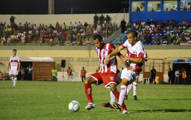 Jogando em casa, Potiguar de Mossoró é derrotado pelo CRB neste domingo (Foto: Wilson Moreno/Gazeta do Oeste)