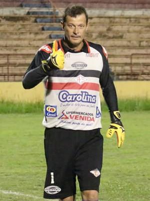Hiran, goleiro da Santacruzense (Foto: Oscar Oliveira / Site Amadorzão)