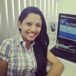 Ana Paula Andrade é auxiliar na Opeca da Inter TV Grande Minas (Foto: Arquivo Pessoal)