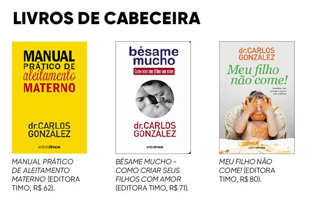 Os livros do Dr. Carlos  (Foto: Divulgação)