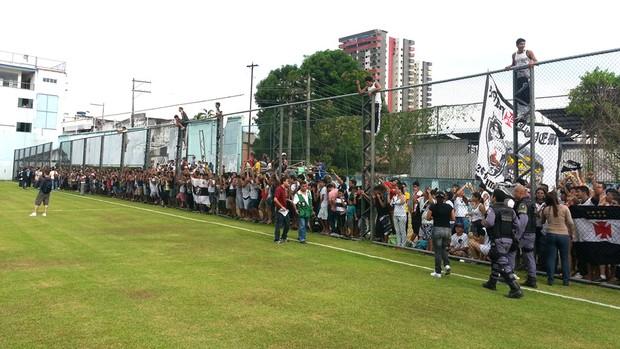 Treino Vasco Manaus (Foto: Raphael Zarko)