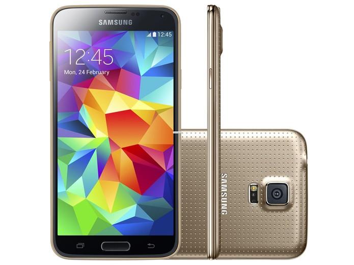 Galaxy S6 pode substituir arquitetura 32 bits do S5 por um processador 64 bits (Foto: Divulgação/Samsung)