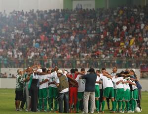 Paragominas terminou em primeiro no Grupo A2 (Foto: Tarso Sarraf / O Liberal)