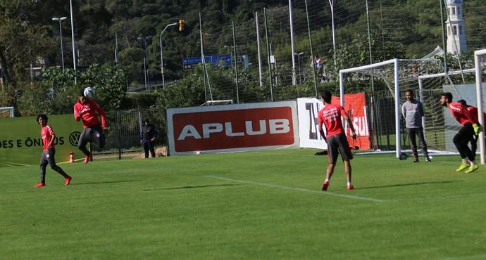 Inter treino CT Parque Gigante (Foto: Tomás Hammes / GloboEsporte.com)
