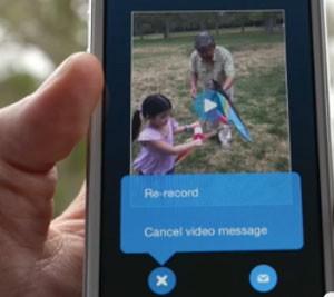 Usuários podem gravar e enviar mensagens para contatos off-line no Skype (Foto: Divulgação/Microsoft)