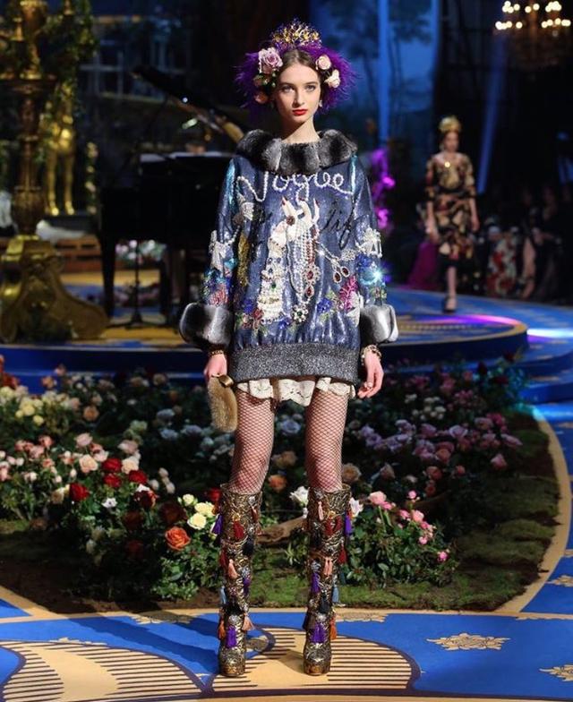 Dolce & Gabbana (Foto: Reprodução/ Instagram)